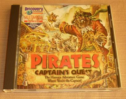 Free: Discovery Channel Pirates Captain's Quest PC Computer