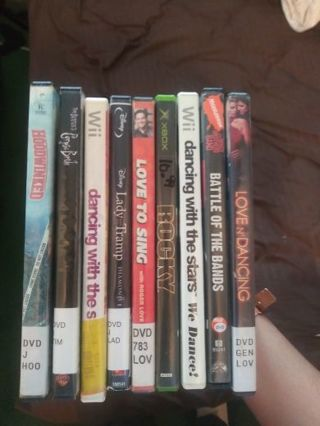 DVD, games bundle