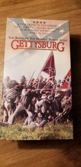 Gettysburg VHS