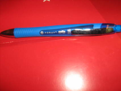 Brand New Blue Foray Gelio Gel Ink Pen It Even Writes