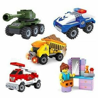 3D Puzzle Jigsaw Mini Dump Truck Movable Educational DIY Toys for Kids Gift