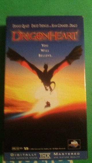 vhs dragonheart free shipping