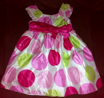 24 months Blueberi Boulevard Dotted Dress