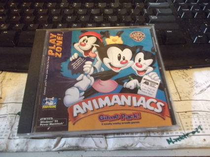 PLAYZONE ANIMANIACS GAME PACK CD GAME