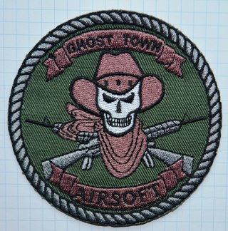 Airsoft army Embroidered Cloth Iron On Patches