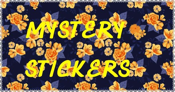 MYSTERY stickers