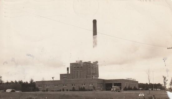 Vintage Used Postcard: 1946 Land O' Lakes Milk Drying Plant, Sebeka, MN
