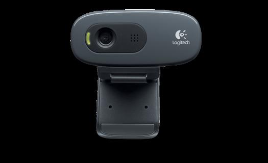 Logitech C260 Webcam ‑ USB 2.0 WEB CAM Windows Skype Live Chat FREE SHIPPING