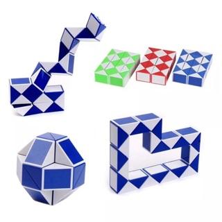 Children Toys Magic Snake Ruler Puzzle Rubik Cube Twist Folding Educational Toy