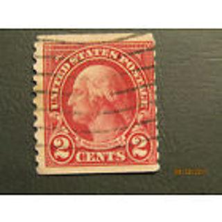 FREE George Washington 2 Cent Scott 599a Type II