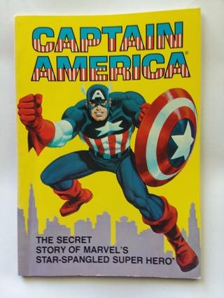 CAPTAIN AMERICA The Secret Story of Marvel Comics First Avenger TPB 1981