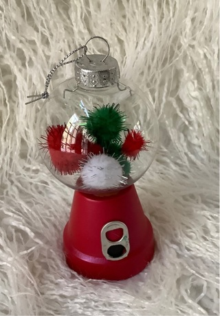 Gumball ornament