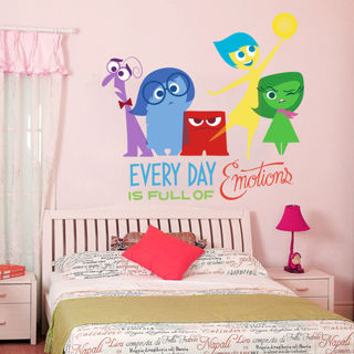 Disney Inside Out Series Wall Sticker Vinyl Wallpaper Kids Bedroom Decor Art