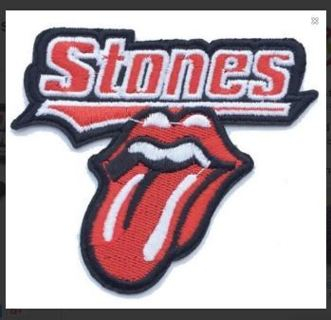 1 NEW Rolling Stones IRON ON Patch Badge Music Band Patch Clothing Embroidery Applique