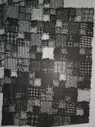 Free Quilt Pattern Scrappy Rag Quilt Sewing Listia Auctions