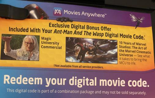 ant man and wasp digital