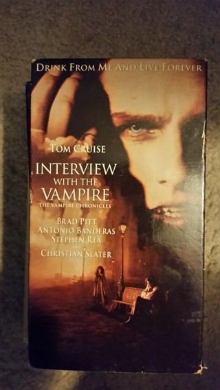 VHS Interview With A Vampire