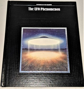 """1987 Time-Life Books """"The UFO Phenomenon"""" - hardcover - 160 pages"""