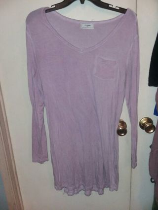 Super cute womens size large shirt dress with pocket