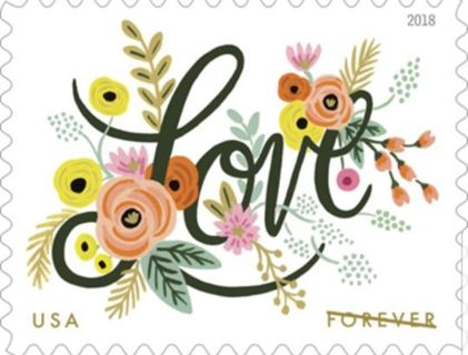 4 FOREVER POSTAGE STAMPS