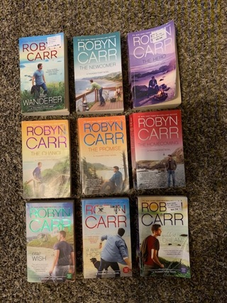 Robyn Carr - Full Complete Paperback Book Set of Thunder Point Series - 9 Books!