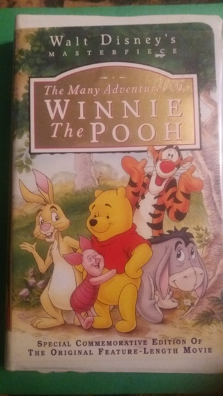 vh sthe many adventures of winnie the pooh free shipping