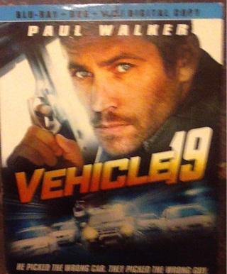 Vehicle 19 Blu-Ray Digital copy only