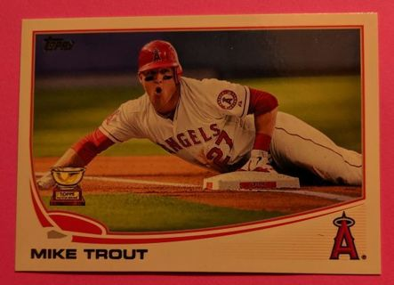 MIKE TROUT TOPPS ALL-STAR ROOKIE