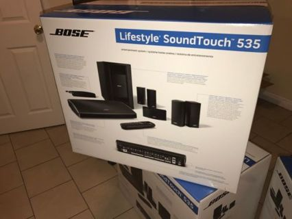 NEW SEALED Bose Lifestyle SoundTouch 535 Home Theater System Latest Series III