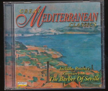 """""""Great Mediterranean Classics"""", See Photo 2 for Playlist - CD-011"""