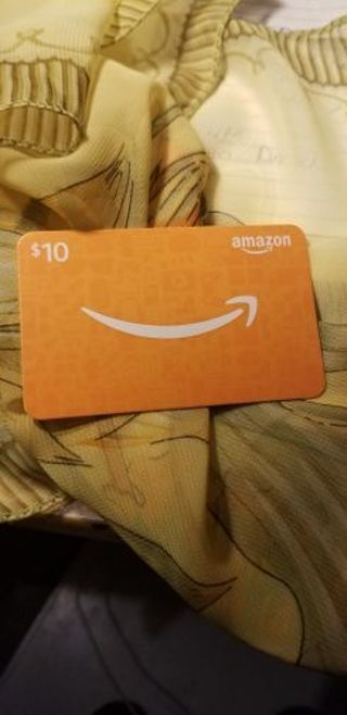 Amazon Gift Card**10 Dollars**
