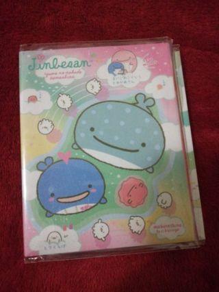 Kawaii jinbesan 4 fold memo booklet #3