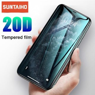 Suntaiho 20D protective glass for iPhone 11 Pro MAX XS 6 6S 7 8 plus glass screen protector for