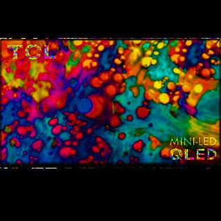 "TCL - 55"" Class 6 Series LED 4K UHD Smart Roku TV"