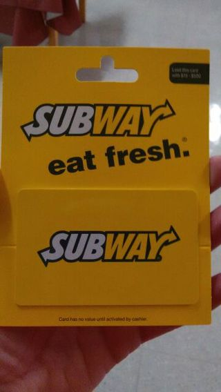 $5.00 SUBWAY CARD. CAN ALSO BE USED FOR THE COMPUTER GAME LEAGUE OF LEGEND'S ..