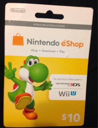 free wii u eshop card codes