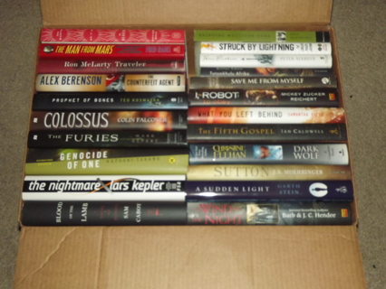 HUGE Box Of Books You Get Them ALL & It's All NEW *Last Relist Or Trash It Goes*