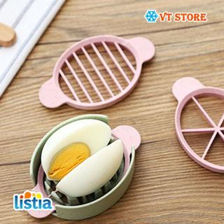 Free Kitchen Gadgets Wheat Straw Multifunctional Egg Cutter Egg - Egg-kitchen-gadgets
