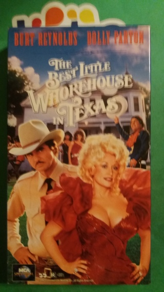VHS movie  the best little whorehouse in texas  free shipping