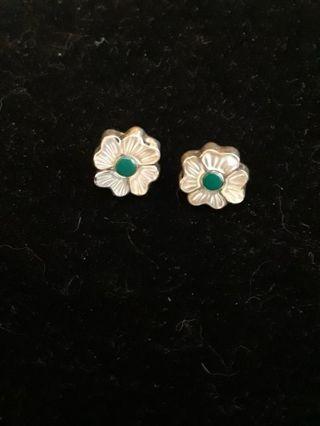 》》 Vintage MOP Flower Earrings 《《