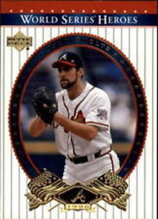John Smoltz - 2002 Upper Deck World Series Heroes #19 - HALL OF FAMER - Mint card