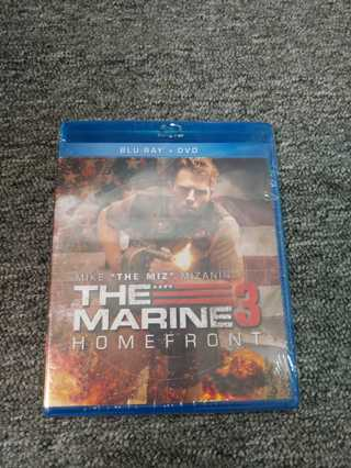 New & Sealed Blu-Ray--+ DVD-- The Marine 3--Homefront