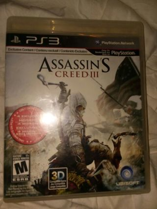 Assassin's Creed 3 for PS3