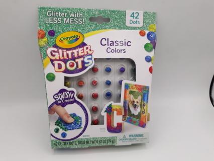 NEW CRAYOLA GLITTER DOTS