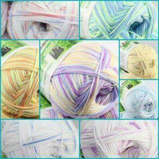 1 Ball X 50gr SUPER Soft Natural Smooth Bamboo Cotton Hand Knitting Yarn