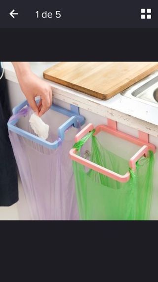Simple and modern Garbage Rack