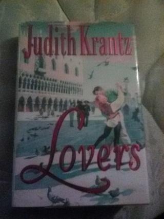 """Lovers"" Used Hardcover Book by Judith Krantz"