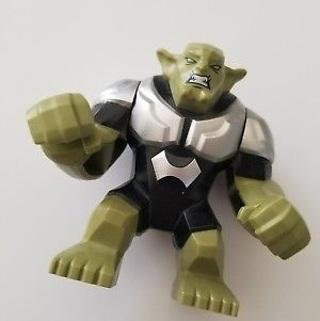New Big Green Goblin Minifigure Building Toy Custom Lego