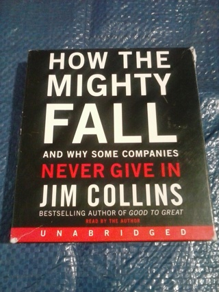 "Audiobook ""How the Mighty Fall and why some companies never give in"""