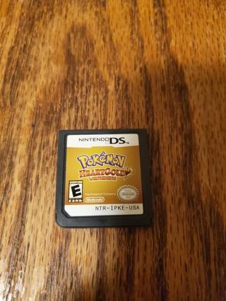 Pokemon HeartGold Version Nintendo DS